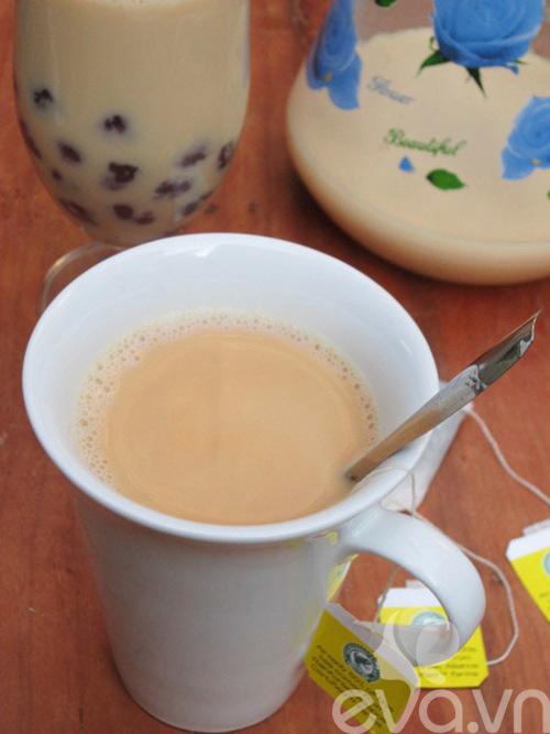 Cách làm trà sữa trân châu ngon tuyệt - 9