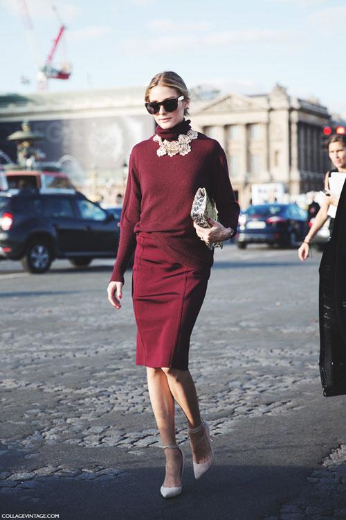 """Đỏ rượu vang - """"Nữ hoàng"""" sắc màu của mùa đông - 14"""