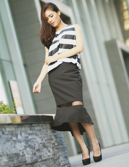 5 kiểu váy đẹp nhất cho nữ công sở quyến rũ cuối thu - 8