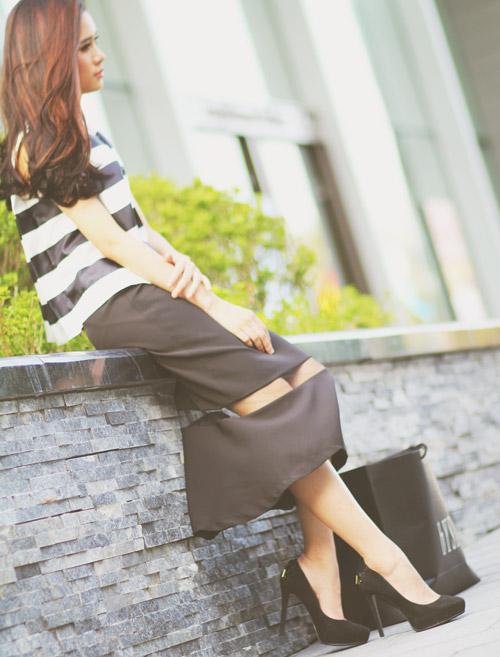 5 kiểu váy đẹp nhất cho nữ công sở quyến rũ cuối thu - 9