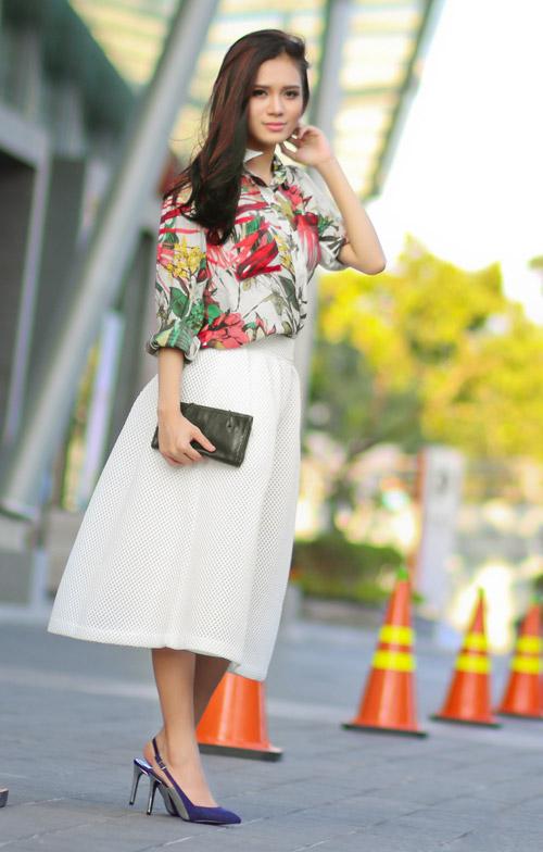 5 kiểu váy đẹp nhất cho nữ công sở quyến rũ cuối thu - 10
