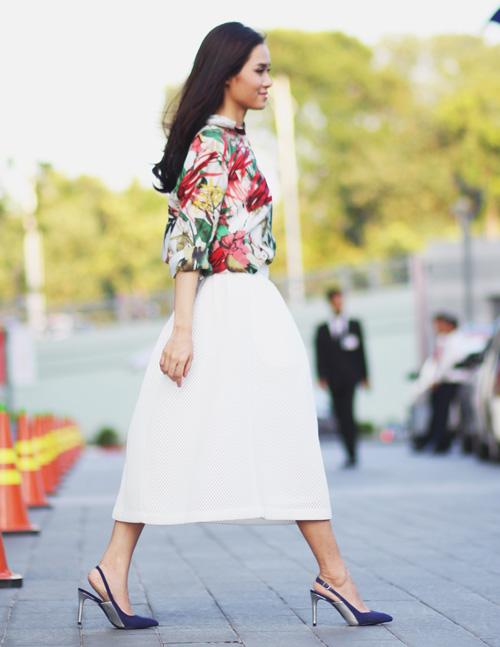 5 kiểu váy đẹp nhất cho nữ công sở quyến rũ cuối thu - 11
