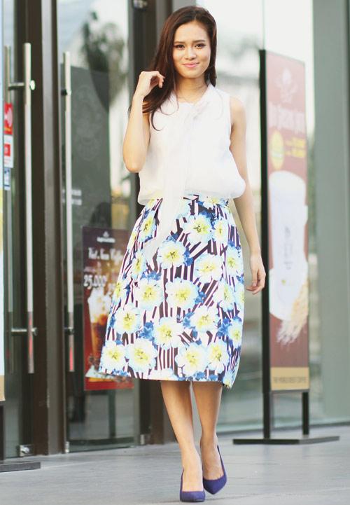 5 kiểu váy đẹp nhất cho nữ công sở quyến rũ cuối thu - 13
