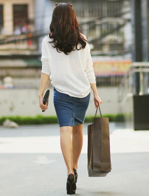 5 kiểu váy đẹp nhất cho nữ công sở quyến rũ cuối thu - 4
