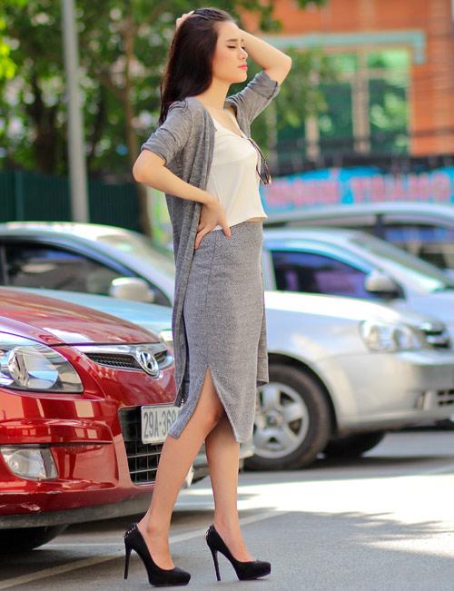 5 kiểu váy đẹp nhất cho nữ công sở quyến rũ cuối thu - 6