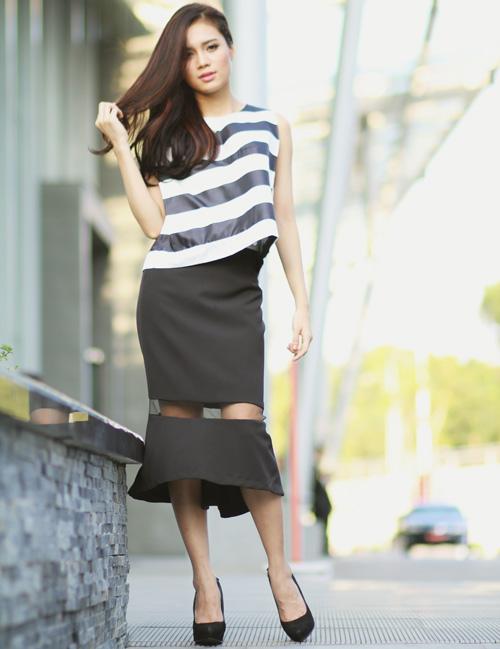 5 kiểu váy đẹp nhất cho nữ công sở quyến rũ cuối thu - 7