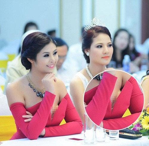 Bắt lỗi mặc váy cổ V kém duyên của sao Việt - 6